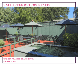 Cafe Lotus Outdoor Patio
