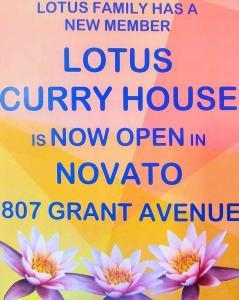 Lotus Curry House in Novato