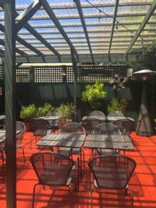 Cafe Lotus - Patio 2020 01 - Tables and Chairs