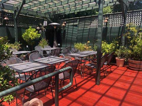 Cafe Lotus - Patio - Tables and Chairs